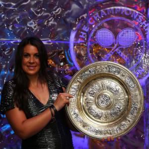 Marion Bartoli assiste au bal des vainqueurs de Wimbledon à Londres