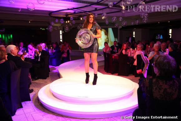 Marion Bartoli star de la soirée organisée à Londres.