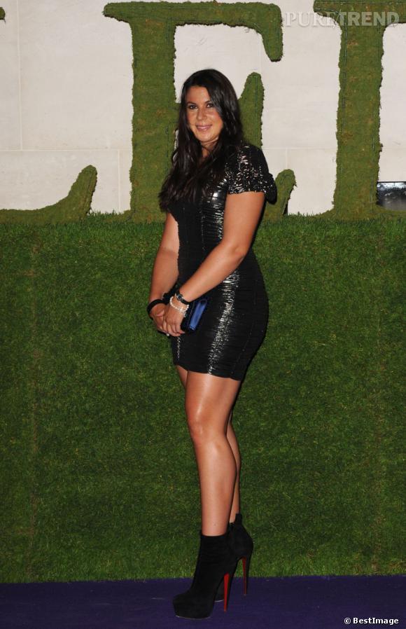 Marion Bartoli sur son 31 pour célébrer sa victoire.