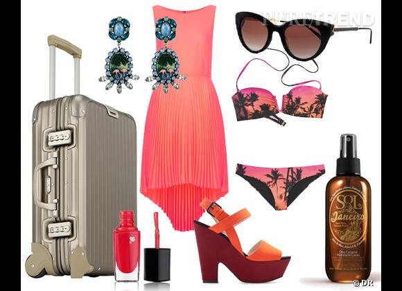 Shopping vacances : dans ma valise pour Miami !
