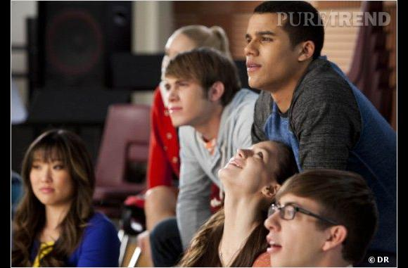 "Dans la saison 4 de ""Glee"", Marley hésite entre Ryder et Jake..."