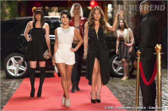 """Reem Kherici dans """"Paris à tout prix"""" : une habituée des tapis rouge."""