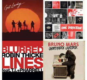 Get Lucky, Blurred Lines, Best Song Ever : les tubes de l'ete 2013