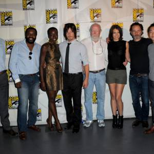 "Le casting de The Walking Dead"" au Comic-Con 2013."