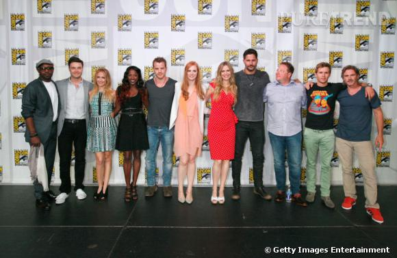 """L'équipe de """"True Blood"""" au Comic-Con 2013."""