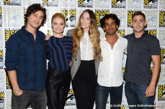 """Les acteurs de """"Once upon a time in Wonderland"""" au Comic-Con 2013."""