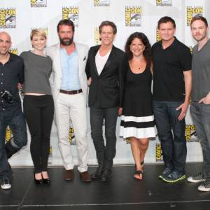 "Les acteurs de ""The Following"" au Comic-Con 2013."
