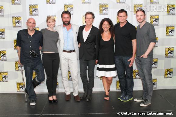 """Les acteurs de """"The Following"""" au Comic-Con 2013."""