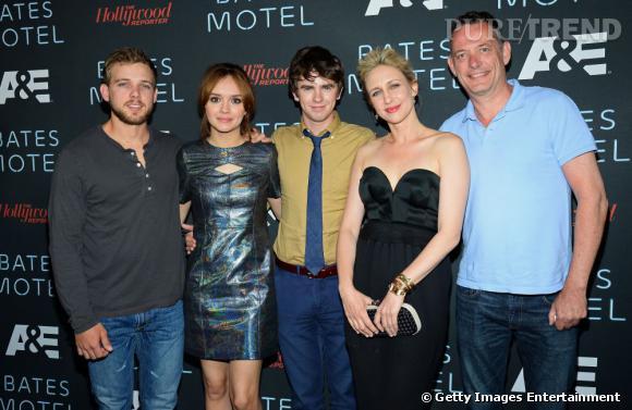 """L'équipe de """"Bates Motel"""" au Comic-Con 2013."""