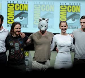 """L'équipe du film """"X-Men Days of Future Past"""" au Comic-Con 2013."""