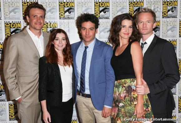 """L'équipe de """"How I Met Your Mother"""" au Comic-Con 2013."""