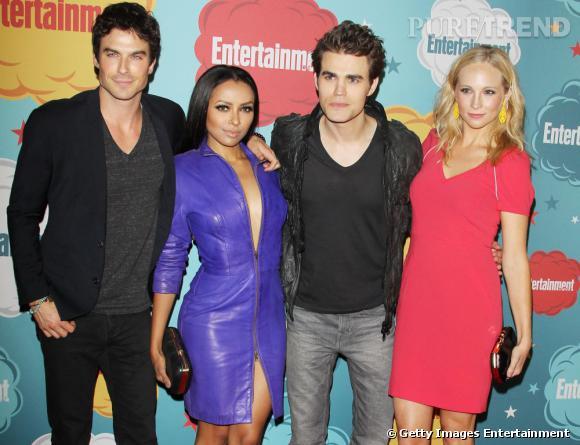 """Les acteurs de """"The Vampire Diaries"""" au Comic-Con 2013."""