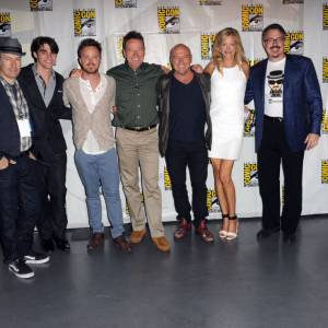 "Les acteurs de ""Breaking Bad"" au Comic-Con 2013."
