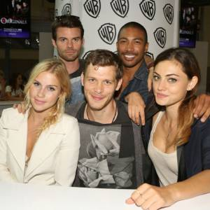 "La team ""The Originals"" au Comic-Con 2013."
