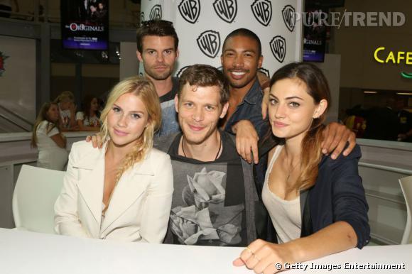 "La team ""The Originals"" au Comic-Con 2013."