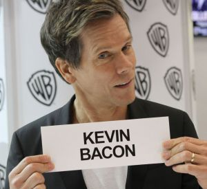 "Kevin Bacon au Comic-Con 2013 pour ""The Following""."
