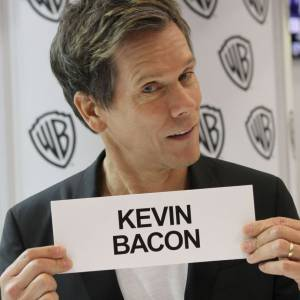 "Kevin Bacon au Comic-Con 2013 pour ""The Following""."