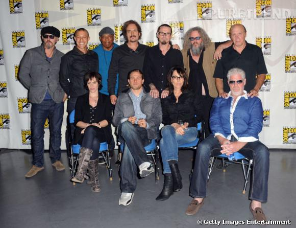 "Les ""Sons of Anarchy"" au Comic-Con 2013."