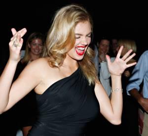 Kate Upton, une vraie boute-en-train a la soiree David Yurman
