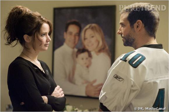 """Jennifer Lawrence et Bradley Cooper se sont déjà donné la réplique dans un film de David O. Russell : """"Happiness Therapy""""."""