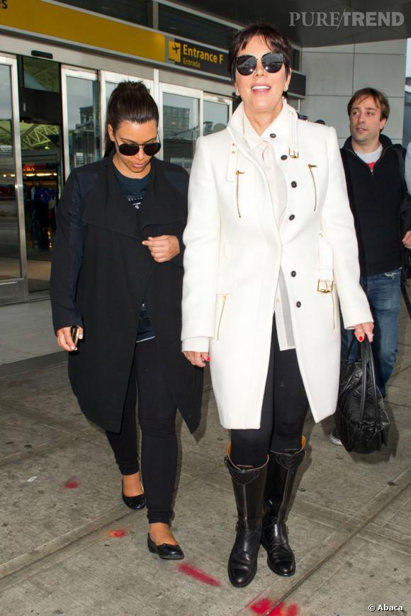 Kim Kardashian et Kris Jenner, la momager.