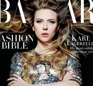 Scarlett Johansson : sensuelle et glamour pour le Harper's Bazaar