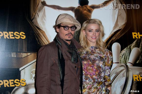 Amber Heard et Johnny Depp, le couple le plus surveillé d'Hollywood.