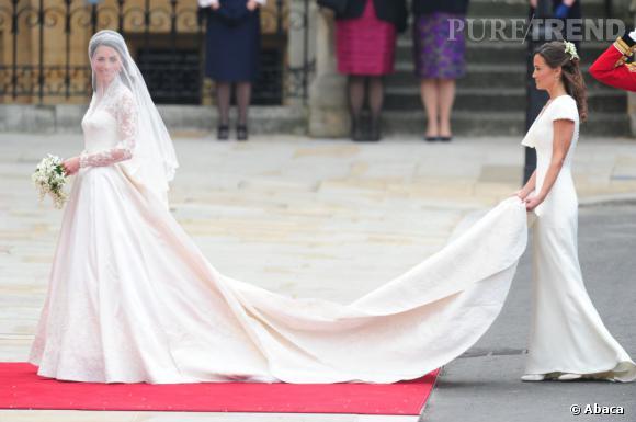 Les fesses de Pippa Middleton  le deuxième sujet de conversation après la  robe de la mariée lors du mariage de Kate et William.