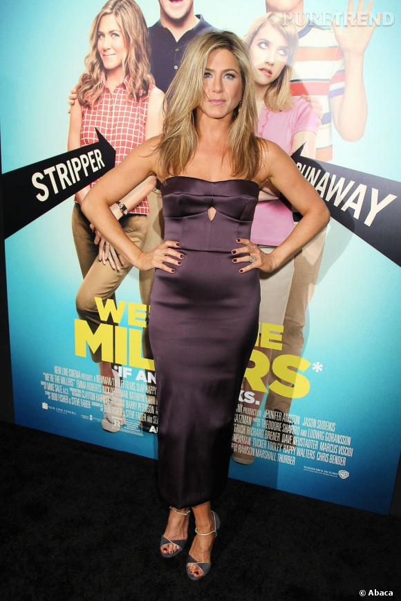 Jennifer Aniston n'est pas enceinte, elle a juste pris quelques kilos.