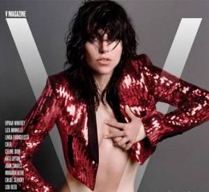 Lady Gaga, encore topless pour V magazine
