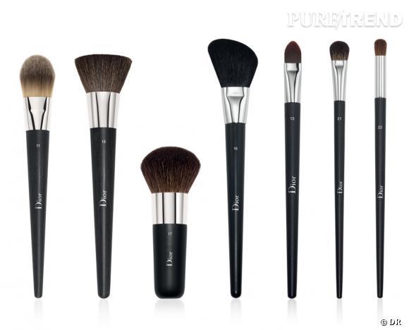 Préférence Les bons pinceaux pour un maquillage pro à la maison : Dior De  DG31