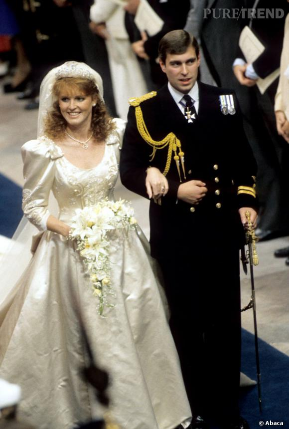 Sarah Ferguson et le prince Andrew se sont mariés en 1986 mais ont divorcé  10 ans