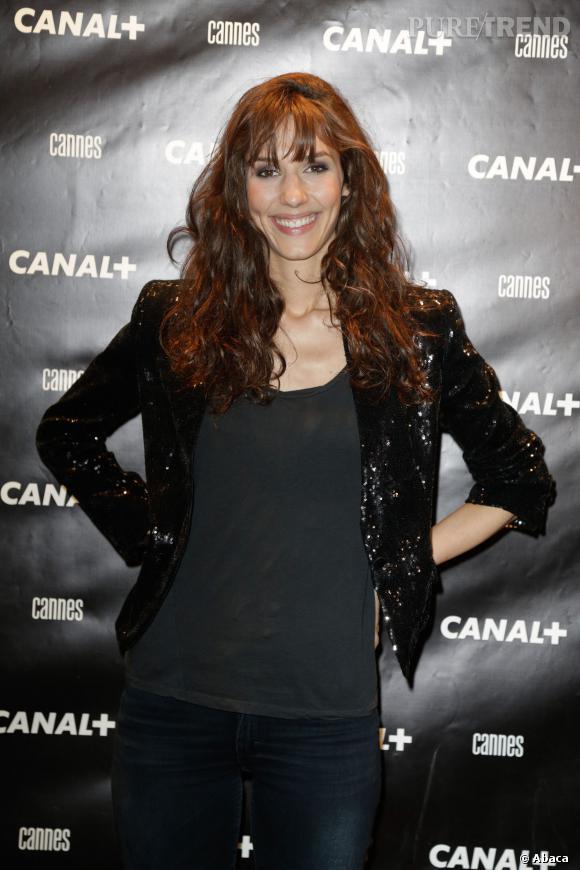 """Doria Tillier de retour pour la 10ème saiosn du """"Grand Journal""""."""