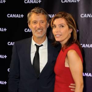 Daphné Roulier et Antoine de Caunes, le couple vedette de Canal +.