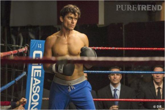 """Matt Bomer, boxeur dans l'épisode 9 de la saison 4 de """"FBI : Duo Très Spécial""""."""