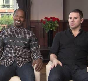 Channing Tatum et Jamie Foxx, duo fun et sexy Deauville pour White House Down