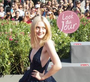 Dakota Fanning : side boob et coup de bluff a la Mostra de Venise