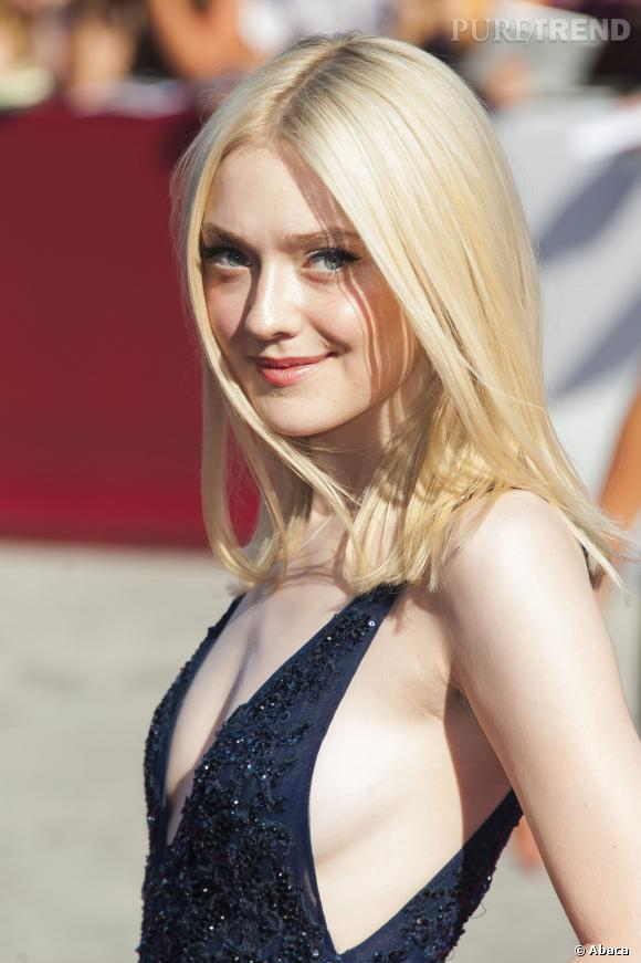 Dakota Fanning, angélique.