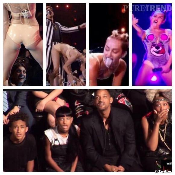 Miley Cyrus choque aux MTV VMA 2013.