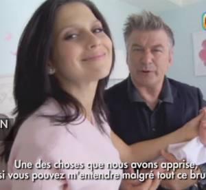 """Alec Baldwin : le papa gâteau nous présente son bébé, """"Je suis béni !"""""""