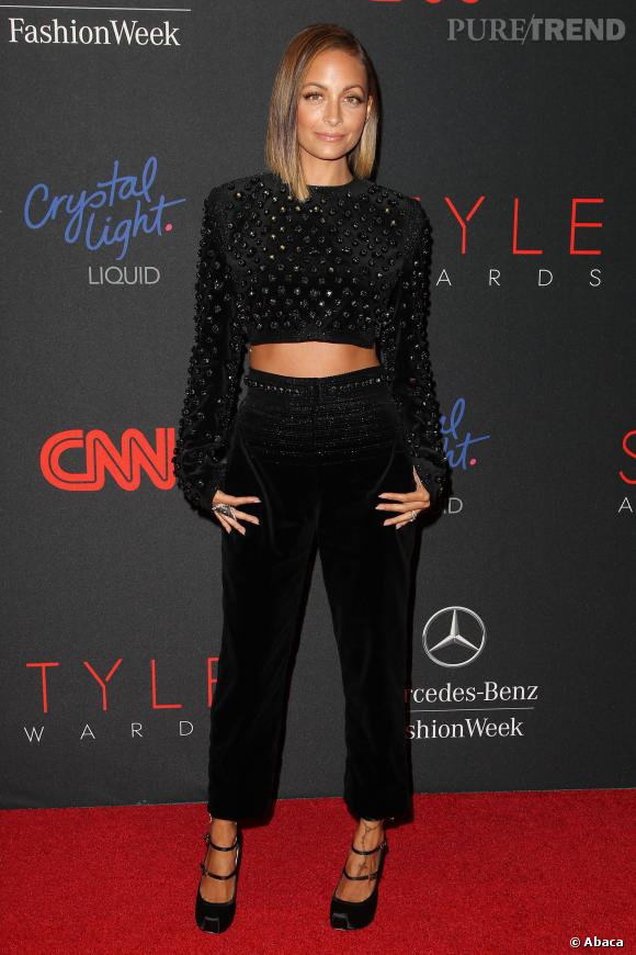 Nicole Richie aux Annual Style Awards, une vraie bombe.