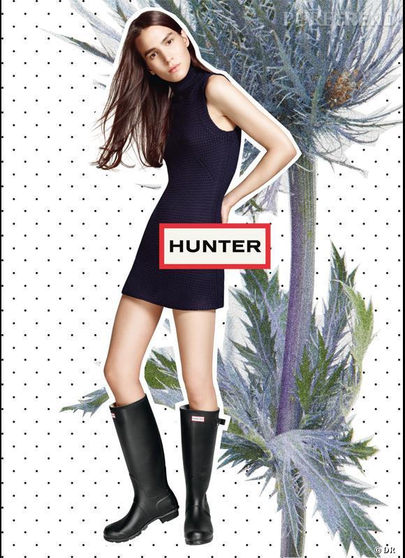 meilleur site magasin britannique joli design Les bottes de pluie Hunter (re)débarquent en France ...