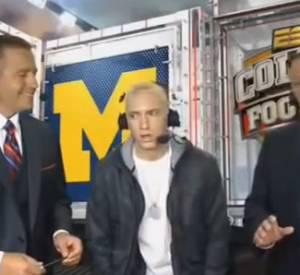 """Eminem, les premières images de """"Berzerk""""."""