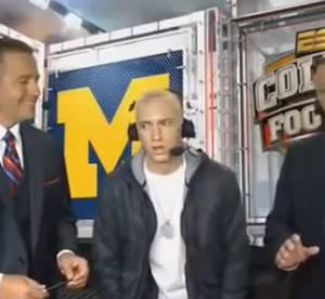 Eminem : premieres images de Berzerk facon old school