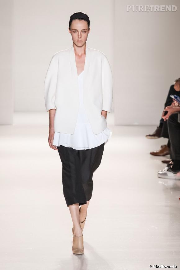 Fashion Week de New York Printemps-Eté 2014 : notre best-of Défilé Victoria Beckham