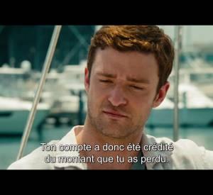 "Justin Timberlake et Ben Affleck dans ""Players""."