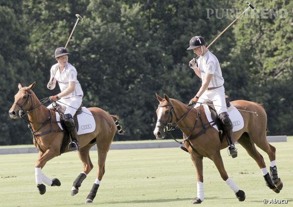 Le Prince Harry est un sportif accompli.
