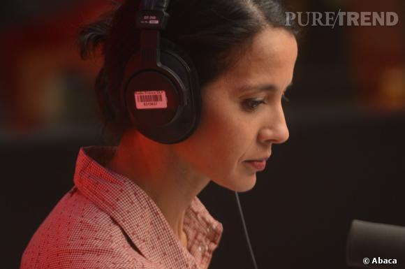 Sophia Aram, une voix aussi bien connue à la radio.
