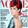 Sandra Bullock ose la coupe mulet en Une du Vogue.