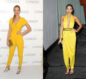 Petra Nemcova vs Ashley Madekwe : la combi sexy jaune poussin